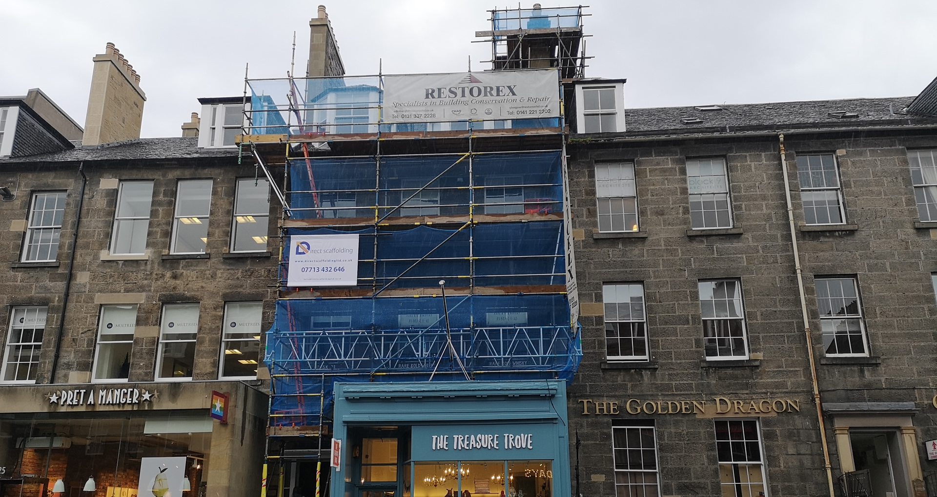 A leading supplier of commercial scaffolding throughout Scotland.